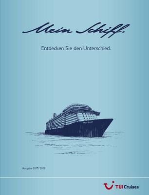 TUI Cruises Katalog Titelseite