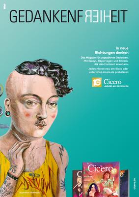 CICERO Anzeige Gedankenfreiheit