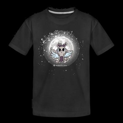 """Junior Designer, Kids/Teens T-Shirt, """"Mondtraum"""", schwarz"""