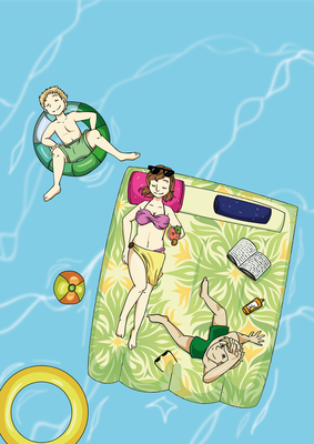 Illustration Cover Magazin
