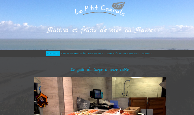 Site internet Le P'tit Cancale