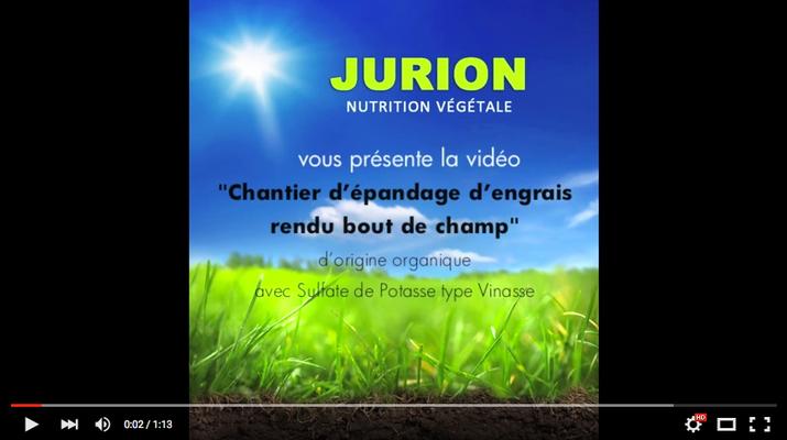 Vidéo de présentation de produit Jurion