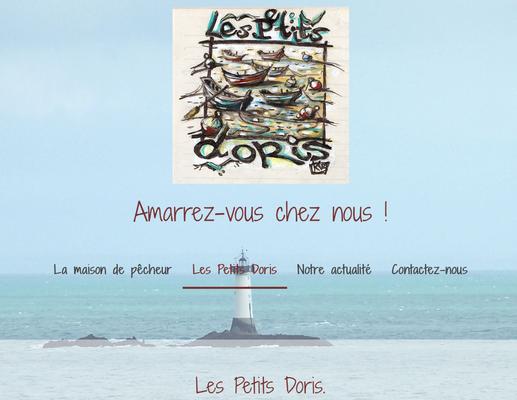 Site internet Location les petits doris Cancale