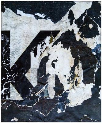 Kalypso, décollage, 32,6 x 27,1 cm, 2019