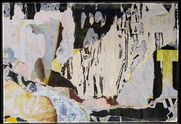CADOS AMA, décollage, 12,7 x 18,4 cm, 2020