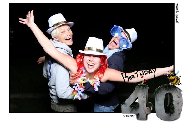 Geburtstag Fotobox