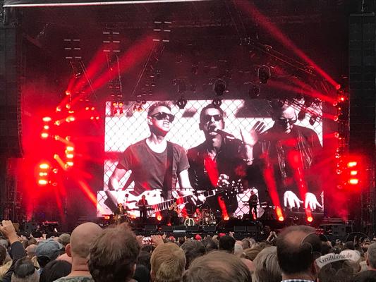 Depeche Mode in Hannover, 12. Juni 2017 / Foto: Dunkelklaus