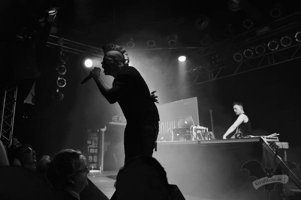 Faderhead in Hannover, 2. Februar 2018 / Foto: Dunkelkaus