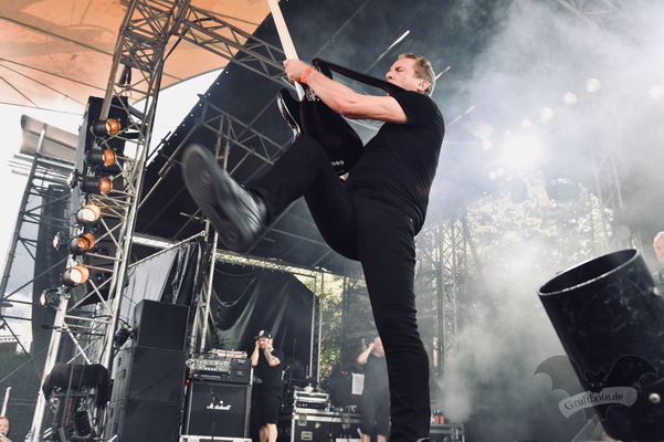 OMD, Amphi-Festival 2018 / Foto: Dunkelklaus