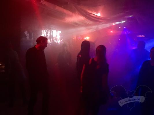 """Cure-Fan-Party """"A Strange Night"""" im Maze-Club Berlin,  22. April 2017 / Foto: Batty Blue"""