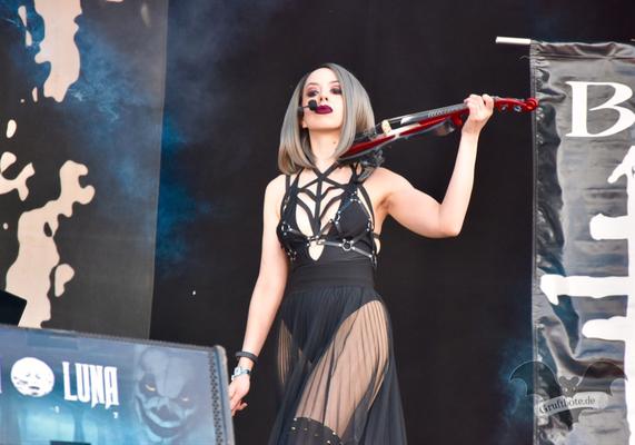 The Crüxshadows, M'era Luna-Festival 2017 / Foto: Dunkelklaus