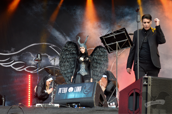 Blutengel, M'era Luna-Festival 2017 / Foto: Batty Blue