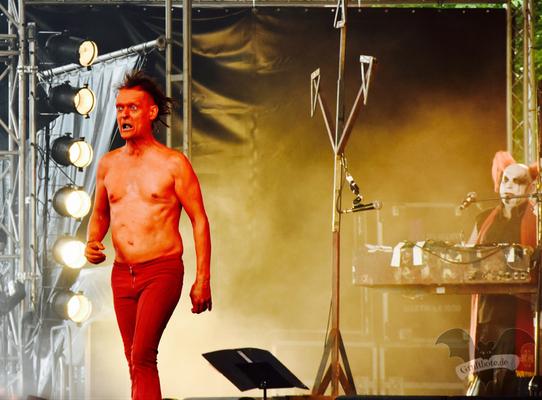 Das Ich, Amphi-Festival 2017 / Foto: Dunkelklaus