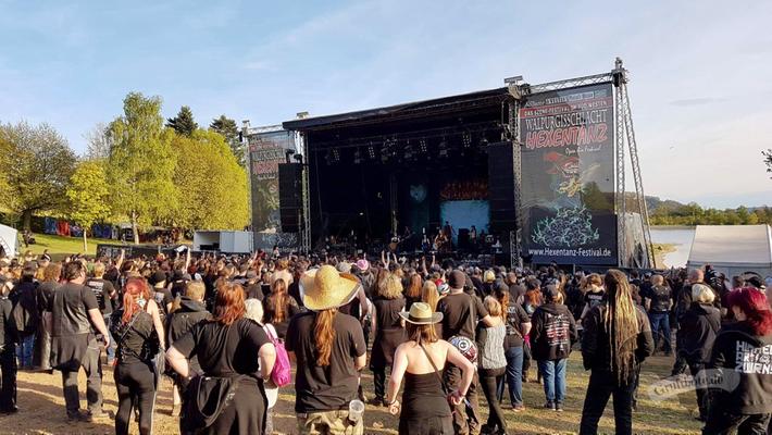 Hexentanz/Walpurgisschlacht-Festival 2017 / Foto: CorviNox