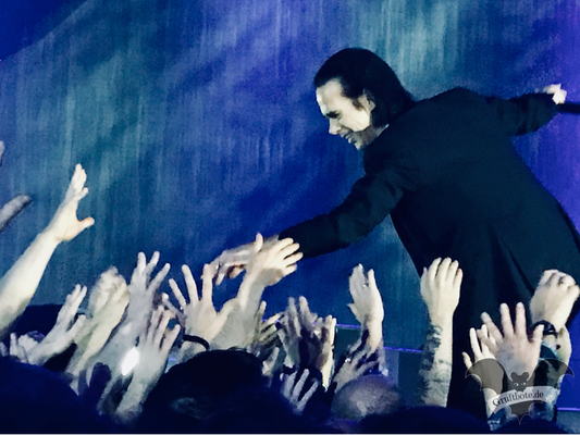 Nick Cave in Hamburg, 9. Oktober 2017 / Foto: Dunkelklaus