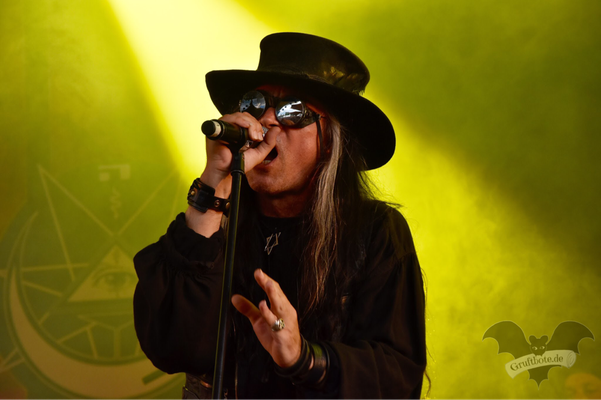 Fields Of The Nephilim, Amphi-Festival 2017 / Foto: Dunkelklaus