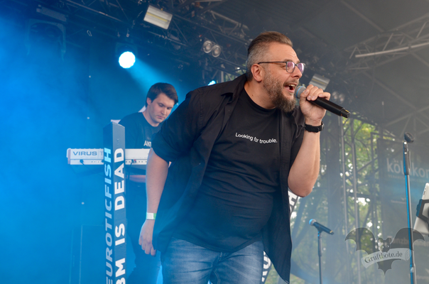 Neuroticfish, Amphi-Festival 2018 / Foto: Batty Blue