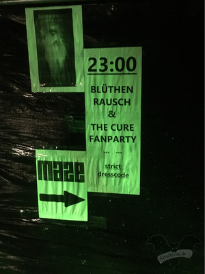 Maze-Club in Berlin, 22. April 2017 / Foto: Batty Blue
