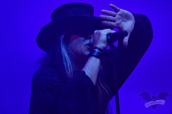 Fields of the Nephilim, Autumn Moon-Festival 2018 / Foto: Batty Blue