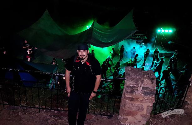 CorviNox auf dem 2. Tanzritual Gothic Castle auf der Teufelsburg