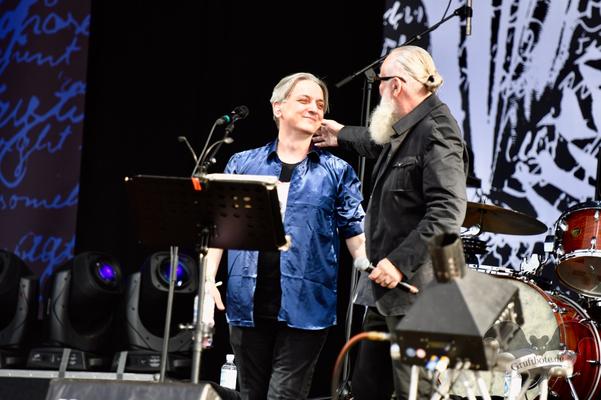 Peter Heppner und Joachim Witt, M'era Luna-Festival 2018 / Foto: Batty Blue