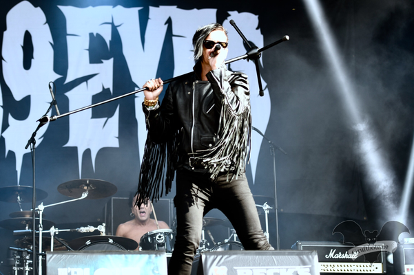 The 69 Eyes, M'era Luna-Festival 2018 / Foto: Batty Blue