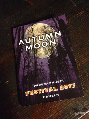 Progammheft des Autumn Moon-Festivals 2017 / Foto: Gothamella