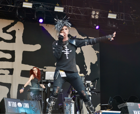 The Crüxshadows, M'era Luna-Festival 2017 / Foto: Batty Blue
