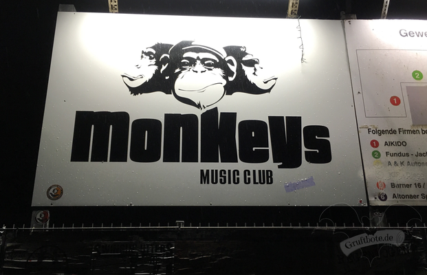 Monkeys Music Club in Hamburg / Foto: Batty Blue