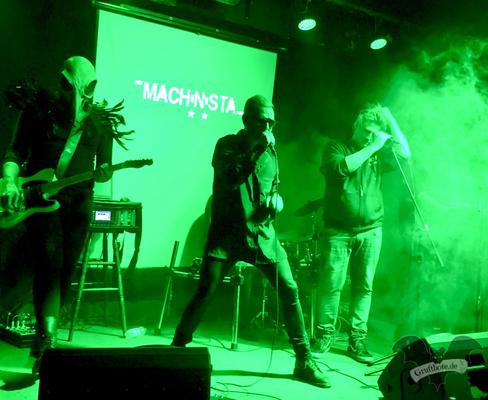 Gemeinsamer Auftritt von Machinista und Scheuber in Hannover, 12. Oktober 2017 / Foto: Batty Blue