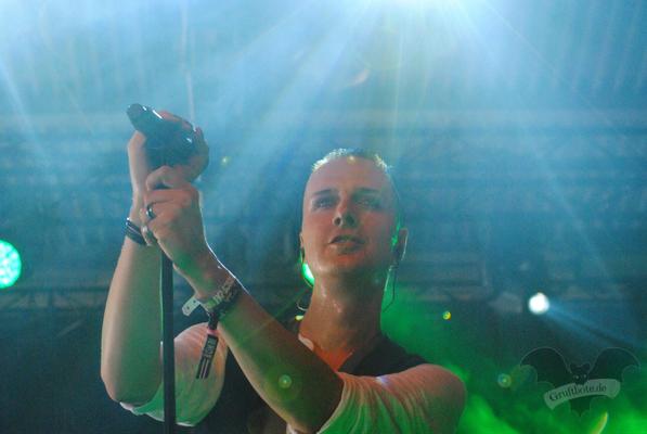 Sven Friedrich (Solar Fake), M'era Luna-Festival 2014 / Foto: Dunkelklaus