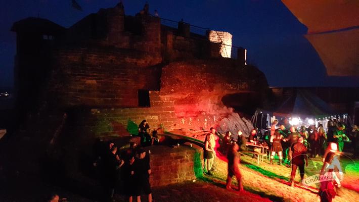 2. Tanzritual Gothic Castle auf der Teufelsburg vom 7. Juli 2017 / Foto: CorviNox