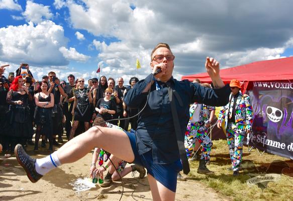 Tomas Tulpe, M'era Luna-Festival 2017 / Foto: Dunkelklaus