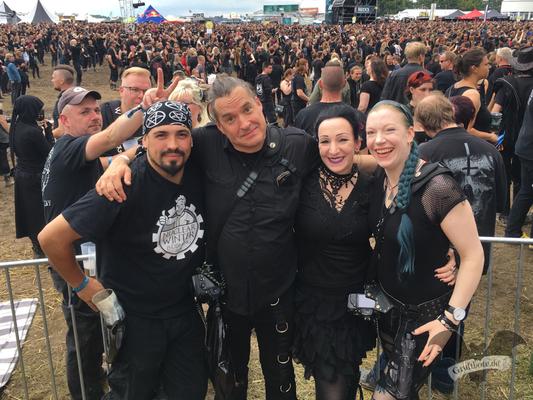 Gruftboten-Treff auf dem M'era Luna-Festival 2017