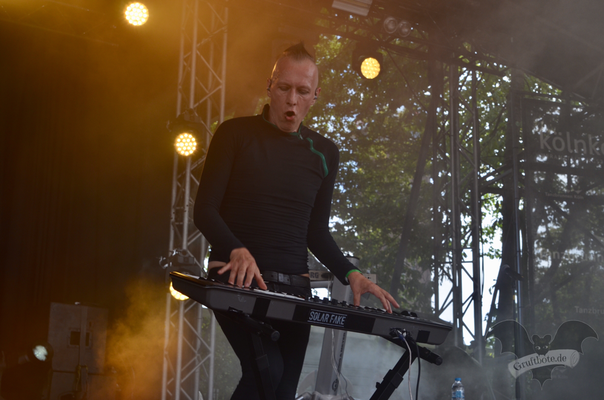 Solar Fake, Amphi-Festival 2018 / Foto: Batty Blue