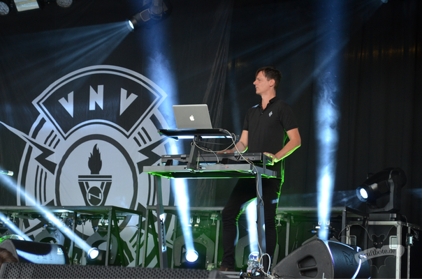 VNV Nation, Amphi-Festival 2017 / Foto: Batty Blue