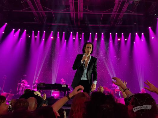 Nick Cave in Hamburg, 9. Oktober 2017 / Foto: Sas