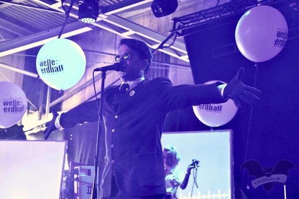 Welle:Erdball, M'era Luna-Festival 2018 / Foto: Dunkelklaus