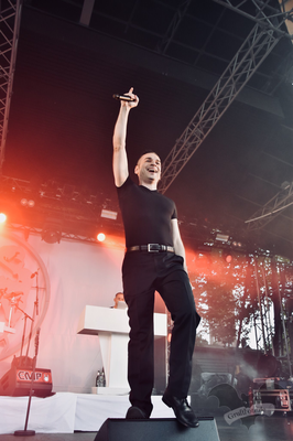 And One, Amphi-Festival 2018 / Foto: Dunkelklaus