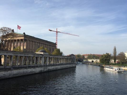Berlin Mitte - Blick auf Museumsinsel