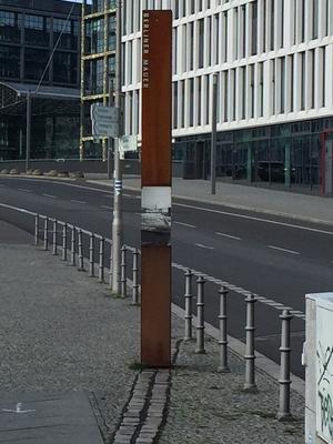 Friedrich-Wilhelm-Stadt, ein Stück Mauer