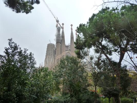 ... die Sagrada Familia