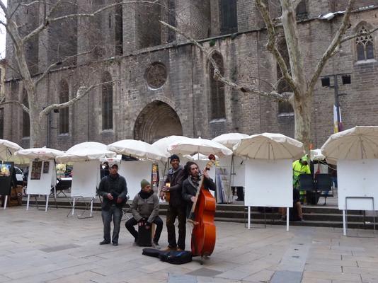 Musik vor der Santa Maria del Pi