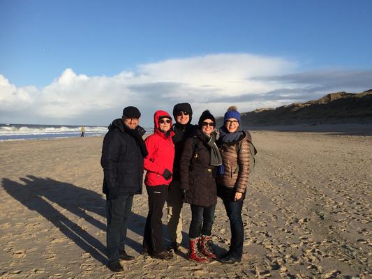 Gruppenbild am Wenningstedter Strand