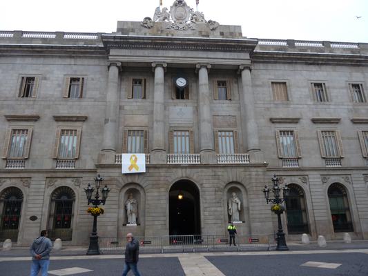 Der Regierungssitz von Barcelona