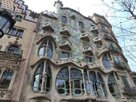 Casa Batlló - da bin ich nicht rein