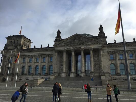 Reichstag am Platz der Republik