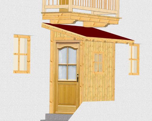 3D-Planung eines Vorhäusels