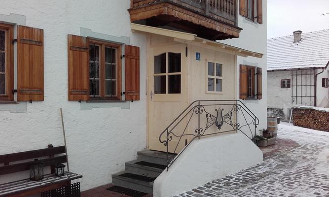 wind- und sichtgeschützter Eingangsbereich / Vorhäusl