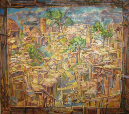 Arba Twon, Vladimir Skripnik, 2012, oil/primer, , , ID1103